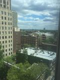 Городской взгляд Филадельфии от десятого пола Стоковые Изображения RF