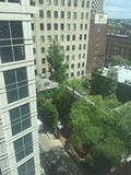 Городской взгляд Филадельфии от десятого пола Стоковое фото RF