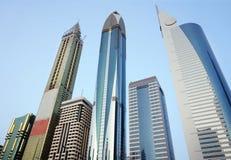 Городской горизонт небоскребов Стоковое Изображение RF
