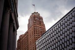 Городской Детройт стоковые изображения rf