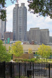 Городской живущий стенд Атланты Стоковое Изображение RF