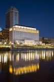 Городской Колумбус, Огайо на зоре стоковое изображение rf