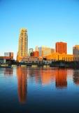 Городской Миннеаполис, Минесота стоковые изображения rf