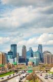 Городской Миннеаполис, Минесота стоковая фотография rf