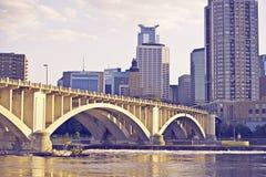 Городской Миннеаполис Стоковое Изображение