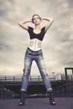 Городской модник стоковое изображение rf