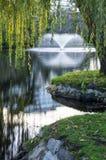 Городской парк в осени, Канада стоковое изображение