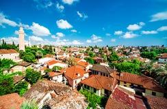 Городской пейзаж Антальи Стоковые Изображения RF