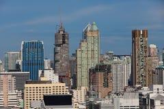 Городской пейзаж Бангкока, Бангкок, Таиланд Стоковая Фотография RF