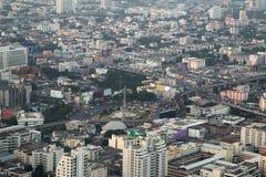 Городской пейзаж Бангкока, Таиланд Стоковое фото RF