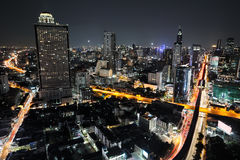 Городской пейзаж Бангкока Стоковые Изображения RF