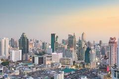 Городской пейзаж Бангкока Стоковые Фото