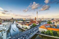 Городской пейзаж Берлина Стоковые Фотографии RF