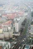 Городской пейзаж Берлина Стоковое фото RF