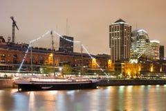 Городской пейзаж Буэноса-Айрес, столица Аргентины стоковые изображения rf