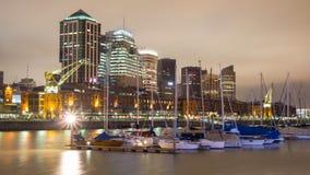 Городской пейзаж Буэноса-Айрес, столица Аргентины стоковая фотография