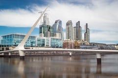 Городской пейзаж Буэноса-Айрес стоковые изображения