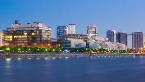 Городской пейзаж Буэноса-Айрес стоковое изображение