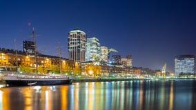 Городской пейзаж Буэноса-Айрес стоковая фотография