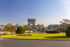 Городской пейзаж Будапешта Стоковое фото RF