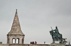 Городской пейзаж Будапешта Стоковое Фото