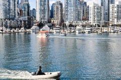Городской пейзаж-Ванкувер, ДО РОЖДЕСТВА ХРИСТОВА Стоковые Изображения