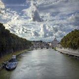 Городской пейзаж Ватикана Стоковая Фотография