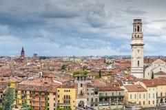 Городской пейзаж Вероны стоковое фото rf