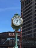 Городской пейзаж в городском Milwaukee, Висконсине, США Стоковые Фото