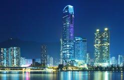 Городской пейзаж Гонконга стоковая фотография rf