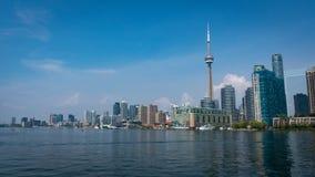 Городской пейзаж горизонта Торонто Стоковые Изображения