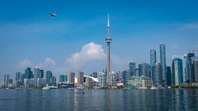 Городской пейзаж горизонта Торонто Стоковые Фото