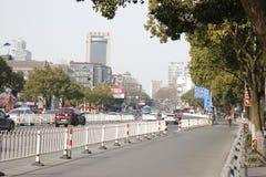 Городской пейзаж города Jiaxing (Чжэцзяна, Китая) Стоковые Изображения