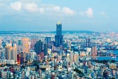 Городской пейзаж города Kaohsiung, Тайваня стоковые фотографии rf