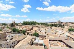 Городской пейзаж городка Toledo старый, Испания Стоковая Фотография RF