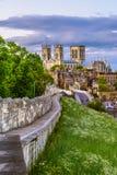 Городской пейзаж Йорка стоковое фото rf