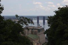 Городской пейзаж Киев стоковые изображения