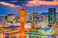 Городской пейзаж Кобе Японии Стоковые Фото