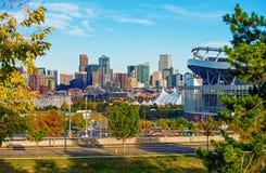 Городской пейзаж Колорадо Денвера стоковое изображение