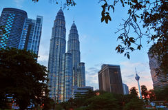 Городской пейзаж Куалаа-Лумпур - 013 Стоковые Фотографии RF