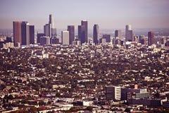 Городской пейзаж Лос-Анджелеса Стоковая Фотография