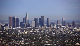 Городской пейзаж Лос-Анджелеса Стоковые Фото