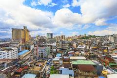 Городской пейзаж Макао внутри городской Стоковое фото RF