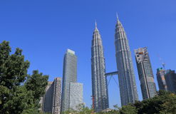 Городской пейзаж Малайзия Куалаа-Лумпур Стоковая Фотография