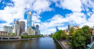 Городской пейзаж Мельбурна Стоковое Изображение RF