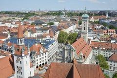 Городской пейзаж Мюнхена стоковые фото