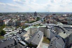 Городской пейзаж Мюнхена стоковое фото rf