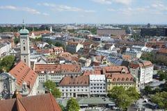 Городской пейзаж Мюнхена стоковые изображения