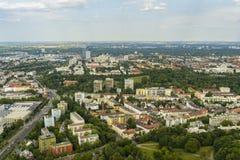 Городской пейзаж Мюнхена Стоковое Изображение