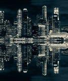 Городской пейзаж небоскреба Стоковые Изображения RF